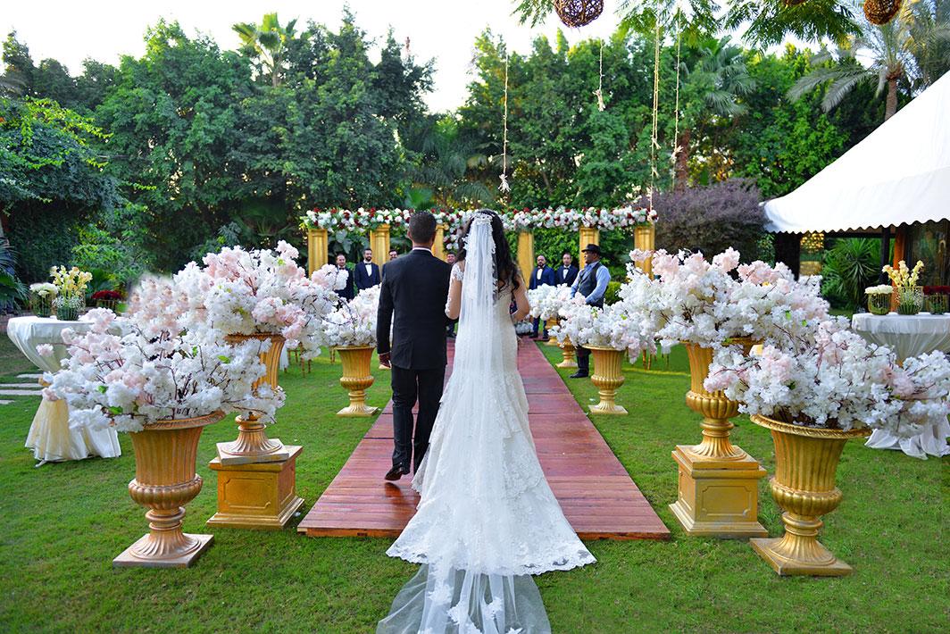 Remarkable wedding in Egypt