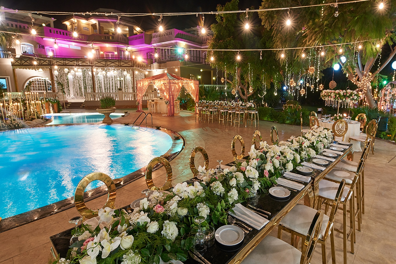indoor outdoor wedding
